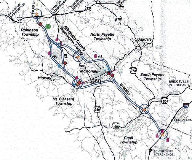 color map of alt routes
